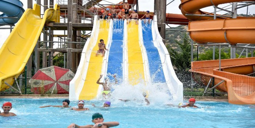 Altındağ'da yenilenen su parkı açılıyor