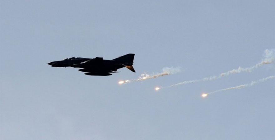 Irak'ın kuzeyinde terör hedefleri vuruldu