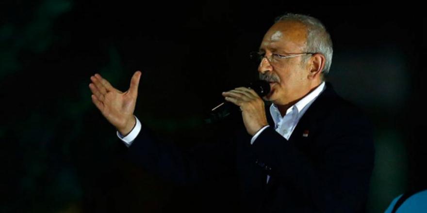 Kılıçdaroğlu'ndan balkon konuşması
