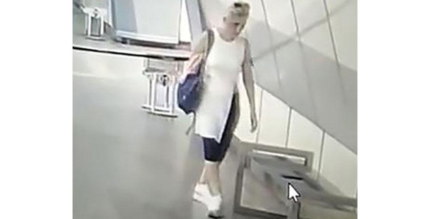 İstanbul'da metro istasyonunda telefon hırsızlığı