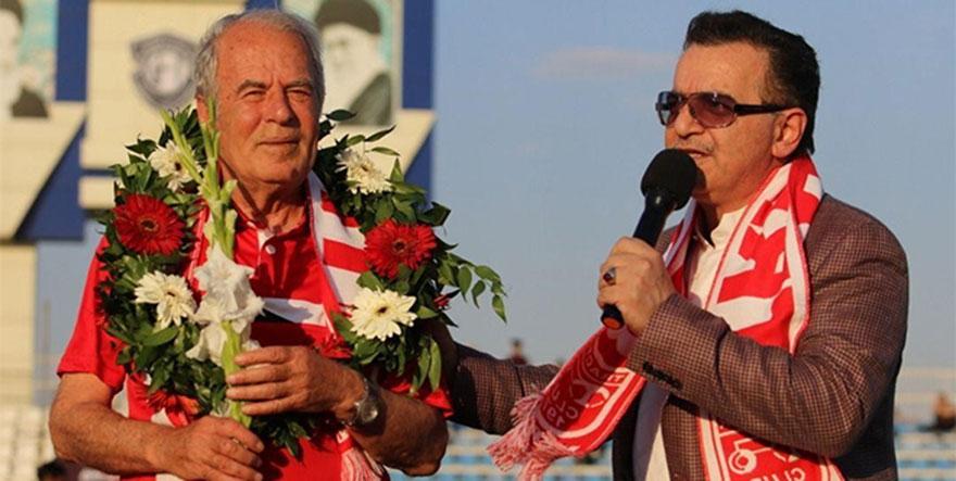 Mustafa Denizli'ye sevgi seli