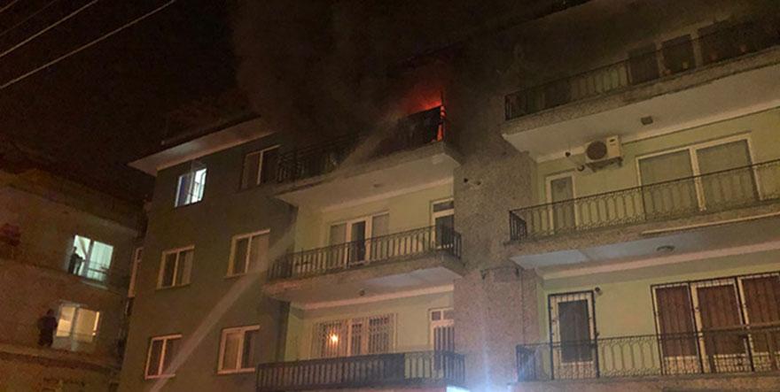 Ankara'daki yangında can pazarı yaşandı