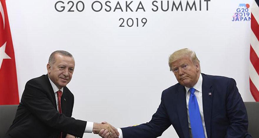 G-20 zirvesinde Erdoğan ile Trump arasında kritik görüşme