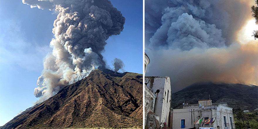 İtalya'da yanardağ patladı:1 ölü