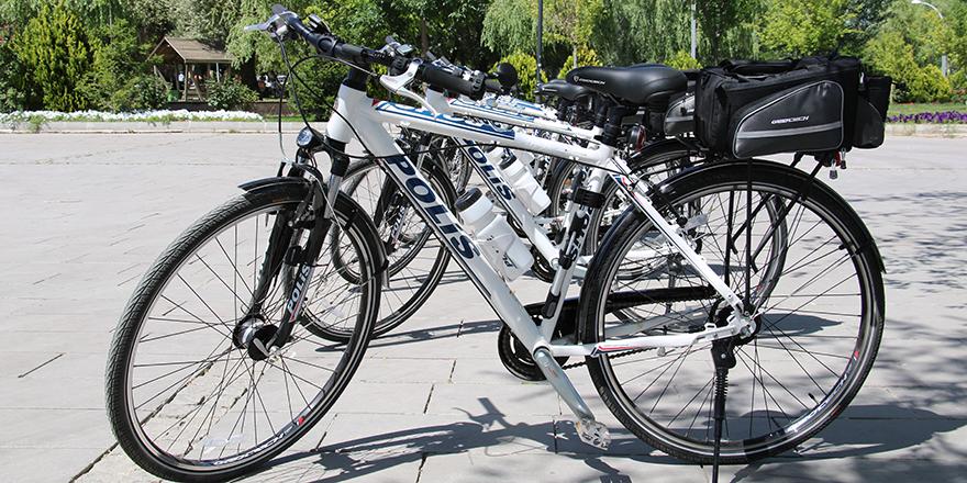 Ankara'da bisikletli polis dönemi