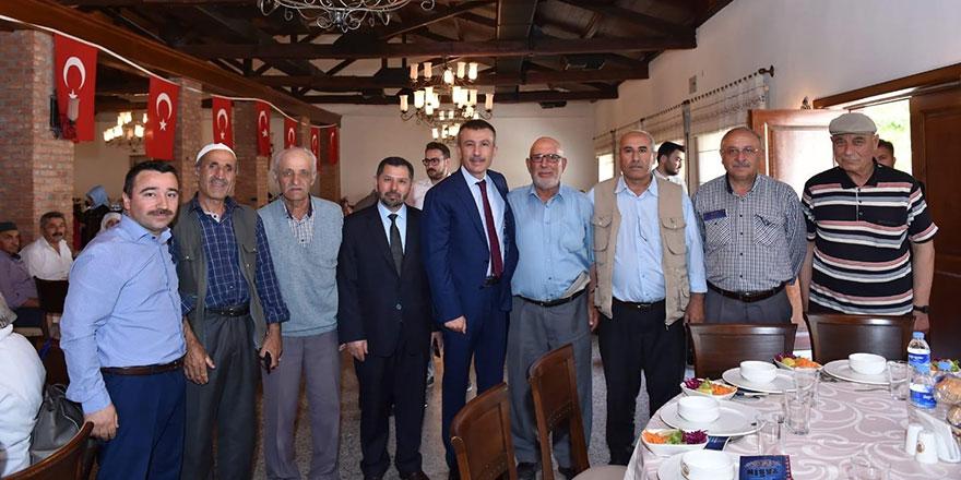 Balcı'dan hacı adaylarına uğurlama