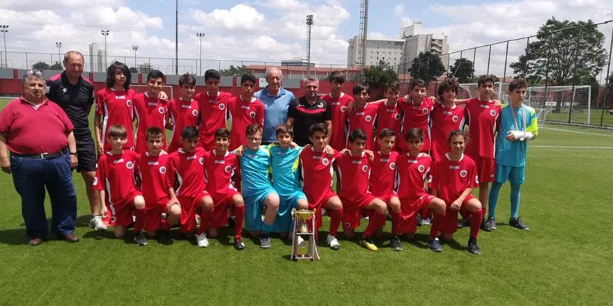 U13'ler Gençlerbirliği Ankara şampiyonu
