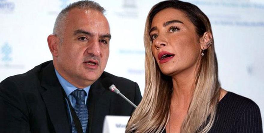 Bakan Ersoy'dan  tepki çeken Sıla konseri açıklaması