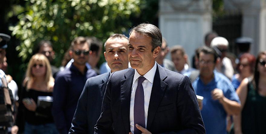 Yunanistan'ın yeni Başbakanı Miçotakis, yemin etti