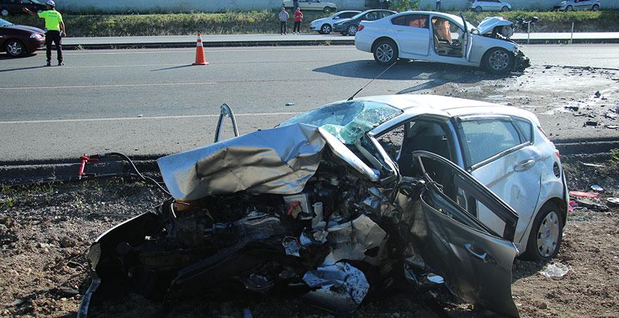 Elmadağ'da feci kaza: 3 ölü