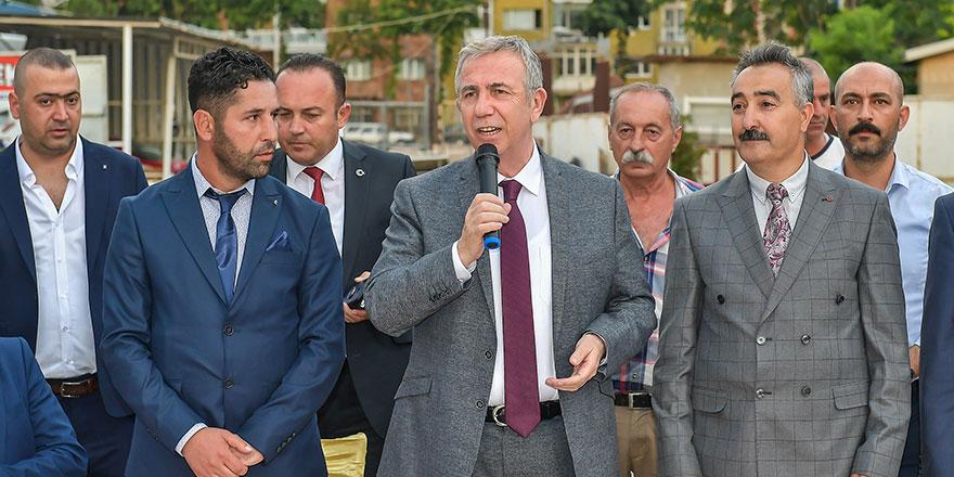 Başkan Yavaş Maltepe'de sorunları dinledi