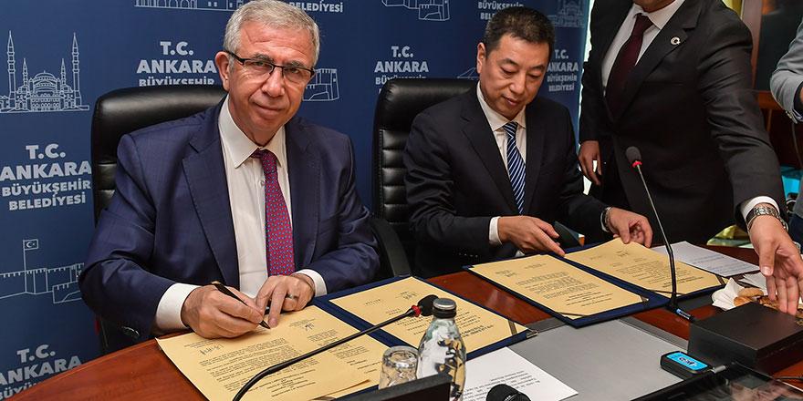Ankara ile Çin arasında dev anlaşma