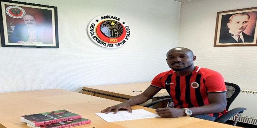 Gençlerbirliği, Montpellier'den Giovanni Sio'yu transfer etti