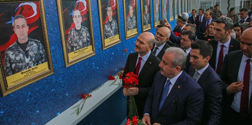 TBMM Başkanı Şentop ve Bakan Soylu, Özel Harekat Başkanlığını ziyaret etti