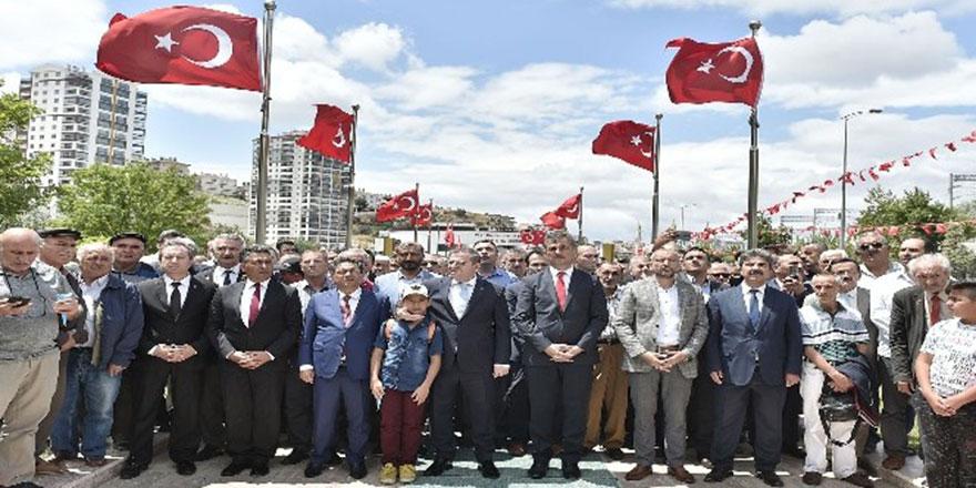 Mamak Belediyesi 15 Temmuz'u unutmadı