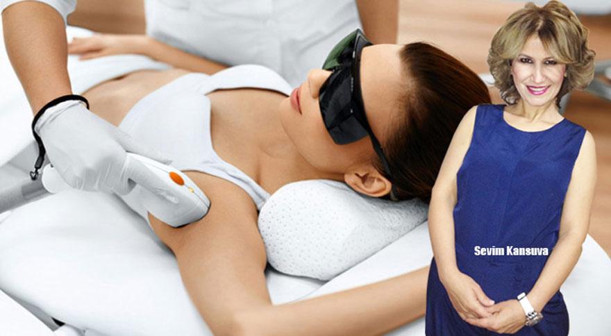 Sevim Kansuva: Lazer epilasyon emziren annelere zarar vermez