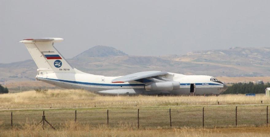 S-400 teslimatında 16'ncı uçak Ankara'ya indi