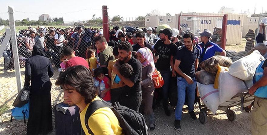 Suriyelilerin bayram yolculuğu