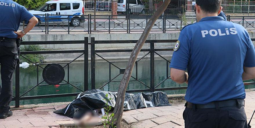 Kanaldan yaşlı kadın cesedi çıktı