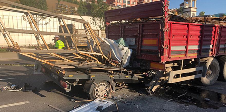 Ankara'da feci kazada 1 kişi öldü