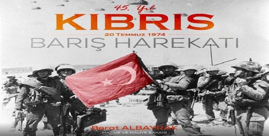 Bakan Albayrak'tan Kıbrıs Barış Harekatı paylaşımı