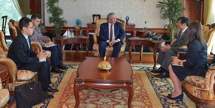 Japonya Büyükelçisi'nden, Başkan Yavaş'a ziyaret
