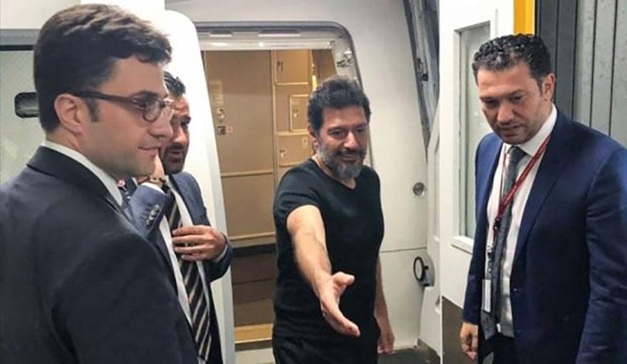 Hakan Atilla Türkiye'ye gönderildi