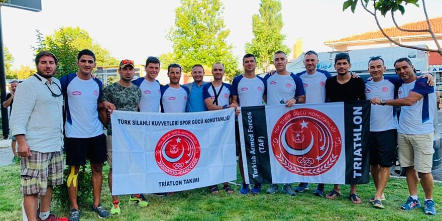 Triatlon'da büyük başarı