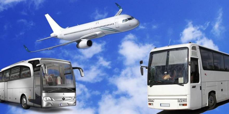 Uçak ve otobüs biletleri uçtu