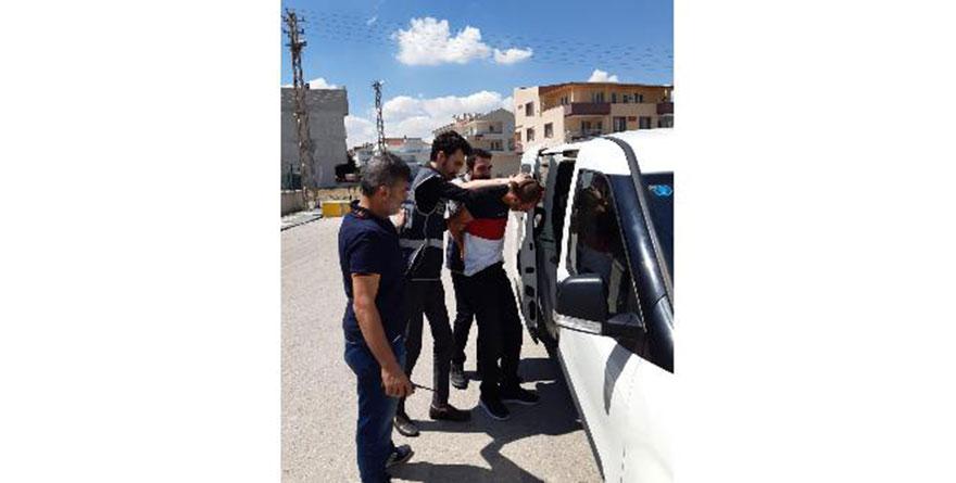 Etimesgut'ta suçüstü yakalanan hırsız tutuklandı