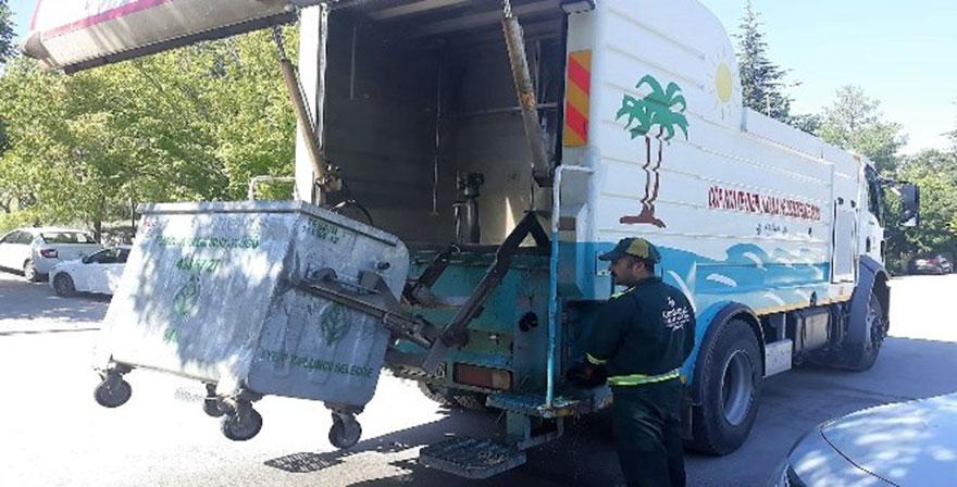 Çankaya Belediyesi'nden yaz temizliği