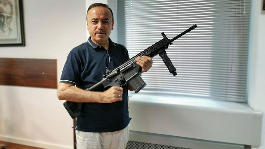 Hacı Turan MPT-76'yı inceledi