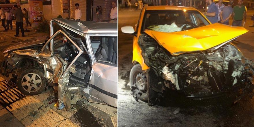 Ankara'da kaza sonrası 5 yaralı