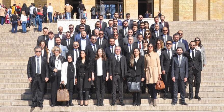 Ankaralı Beşiktaşlı Hukukçular Anıtkabir'de