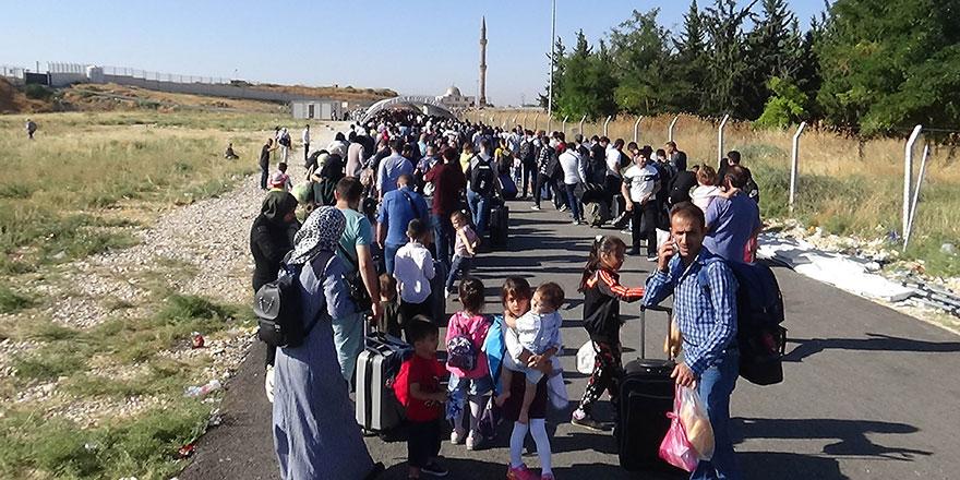 Ülkelerine bayram için giden Suriyelilerin sayısı açıklandı