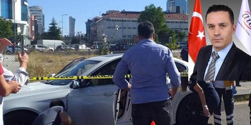 Başkentte iş adamına araç içinde infaz