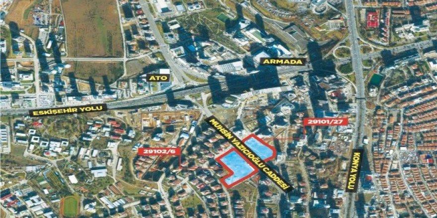 Ankara'nın merkezine açık arttırma ile satış yapılacak