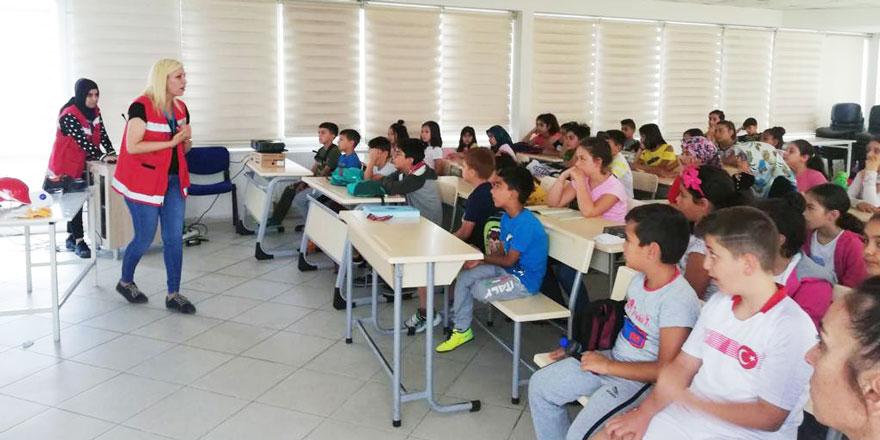 Çocuklara güvenlik eğitimi