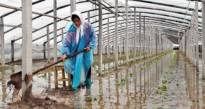 Çin'i tayfun vurdu