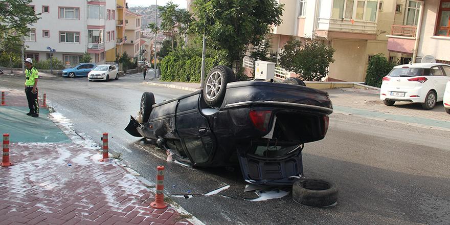 Alkollü araç kullanımı yaralanmalara sebep oldu