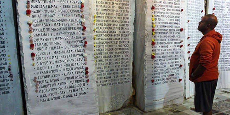 Marmara depremi 20. yılında anıldı