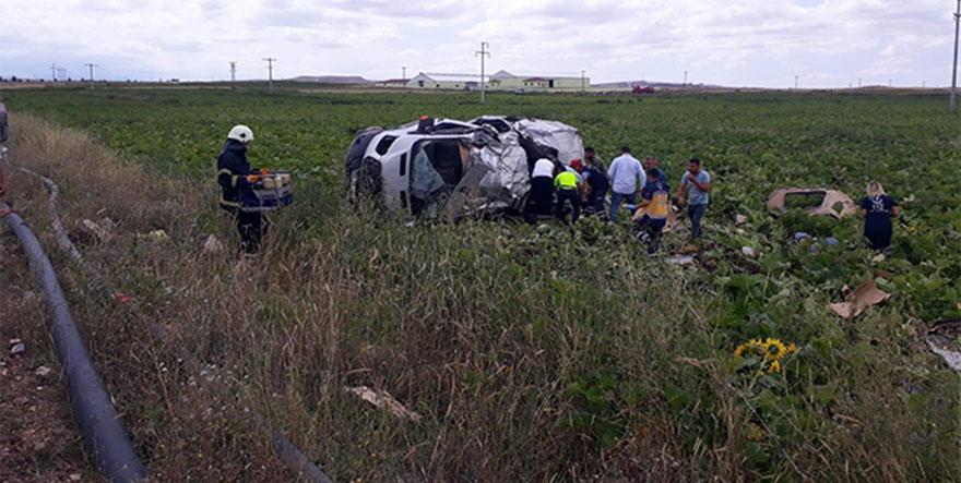 Nevşehir'deki feci kazada 6 kişi hayatını kaybetti