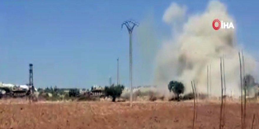 Esad Rejiminden Konvoyumuza Hava Saldırısı