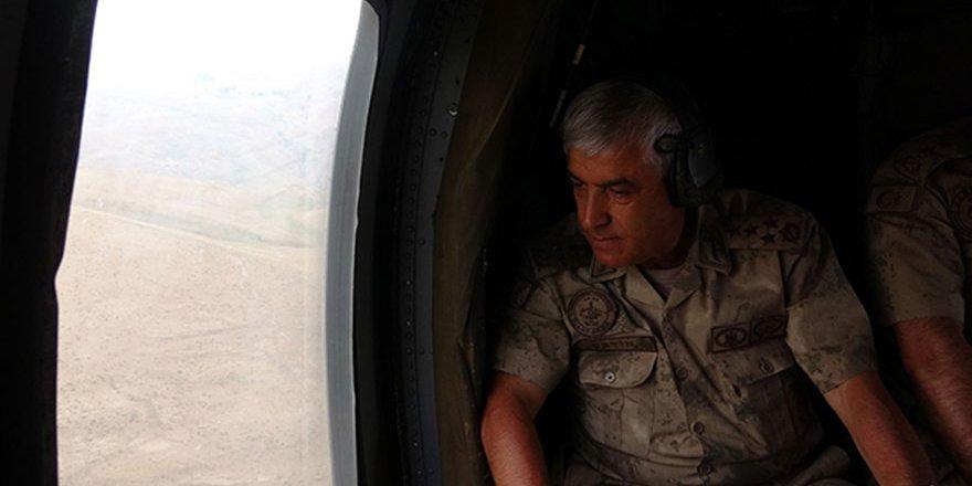 Jandarma Genel Komutanı Orgeneral Arif Çetin, dağlar teröristlerden temizlendi