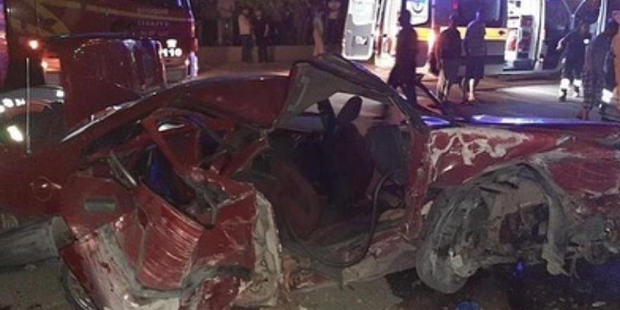 Başkent'te trafik kazası can aldı