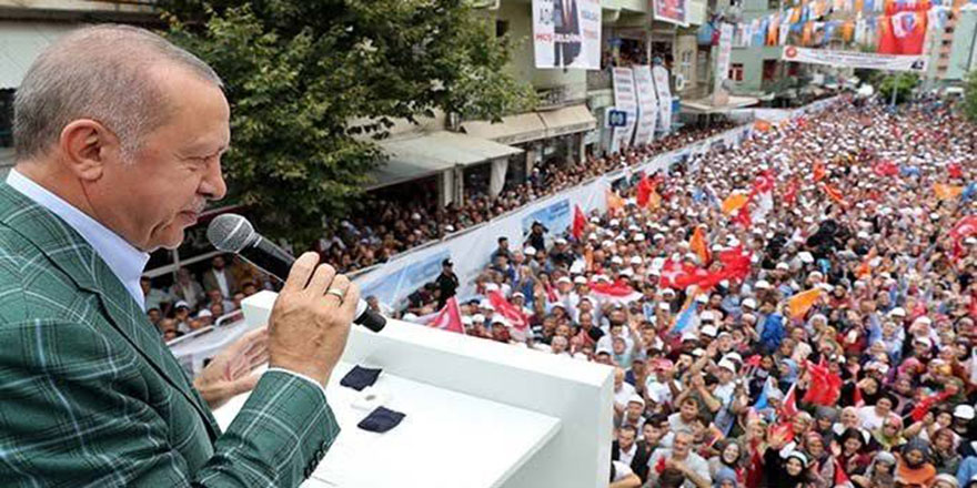 Cumhurbaşkanı Erdoğan'dan batıya sert eleştiri