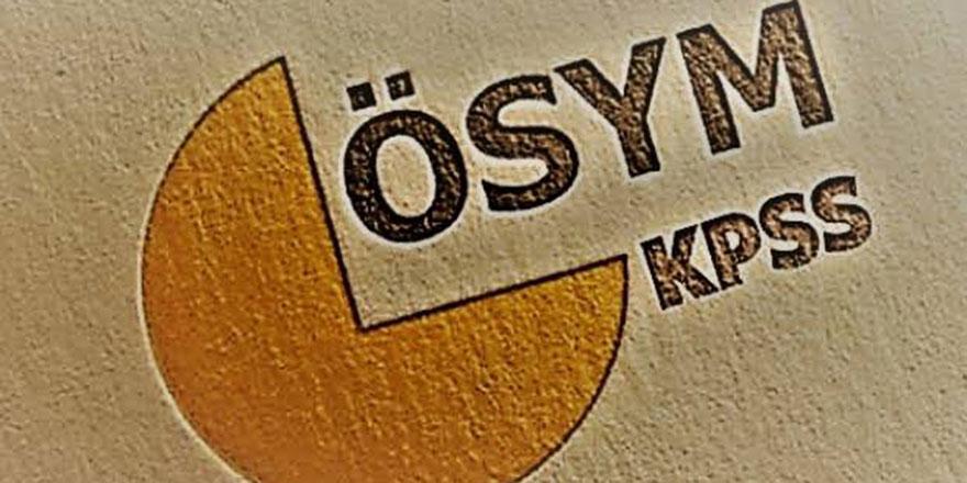 ÖSYM 2019 KPSS sonuçlarını açıkladı