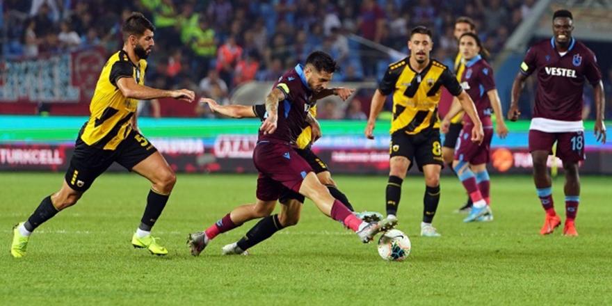Trabzonspor UEFA Avrupa Ligi'nde tur atladı