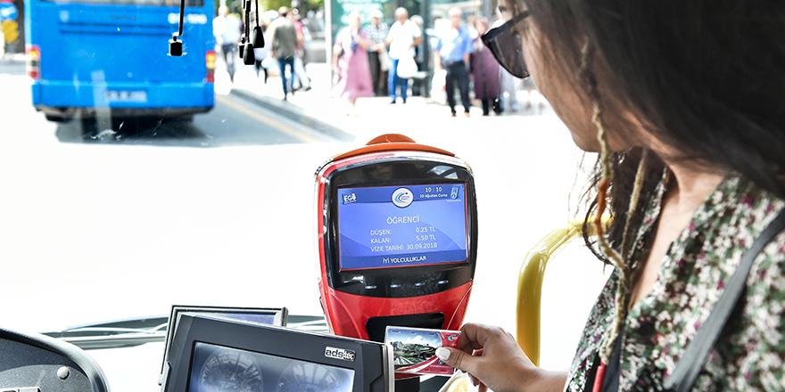 Başkent'te toplu taşıma ücretleri belirlendi