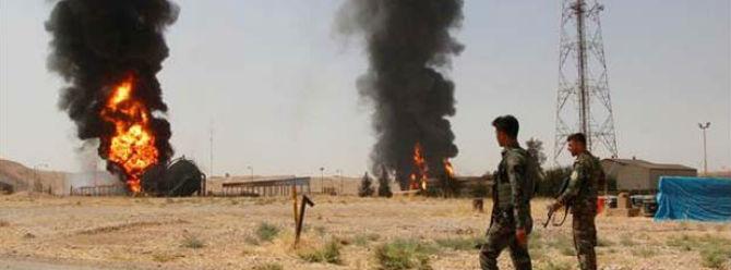 IŞİD, petrol kuyusu ve gaz dolum istasyonuna saldırdı